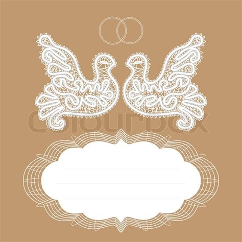 White dove pigeon loyalty wedding rings gold background