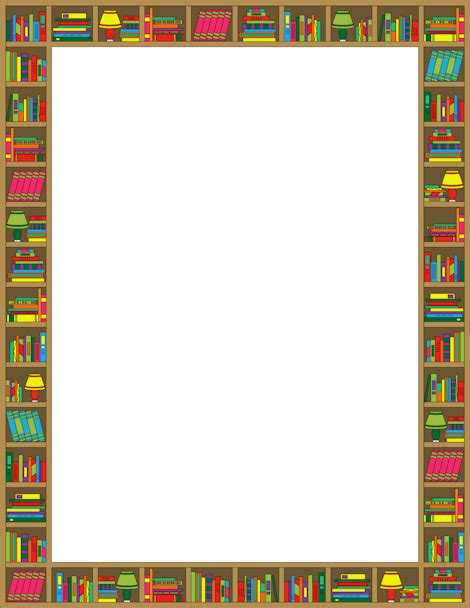 3d Border Picture by Book Border Png Free Book Border Png Transparent Images