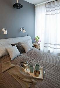 peinture murale quelle couleur choisir chambre a coucher With quel couleur de peinture pour chambre d adulte