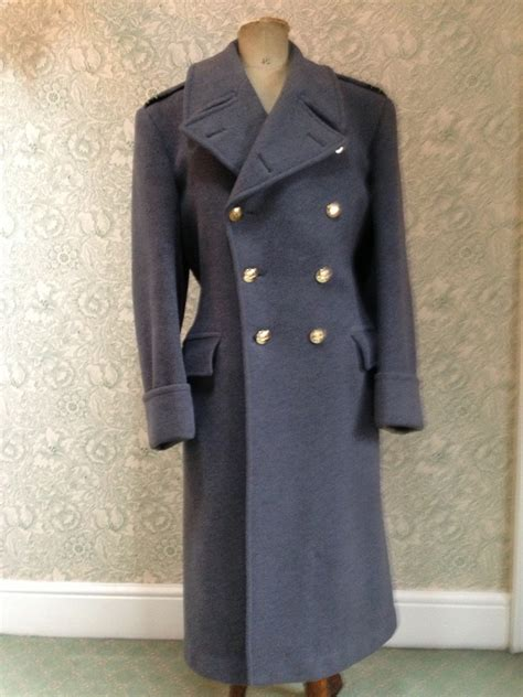 raf officers greatcoat  military