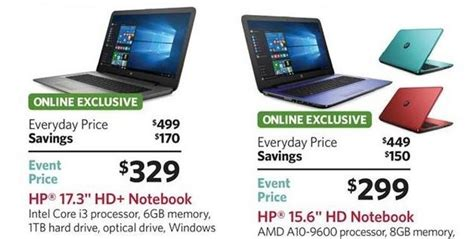 Sams Club Desktop Computers by Sam S Club Black Friday Ad Leaks With Hp Laptop Desktop