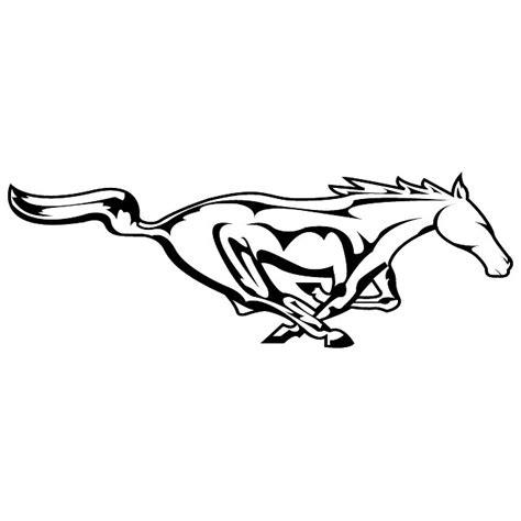 mustang horse logo mustang logo drawing
