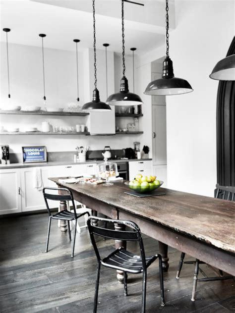 cuisine type industriel maison renovee york cuisine style industriel parquet