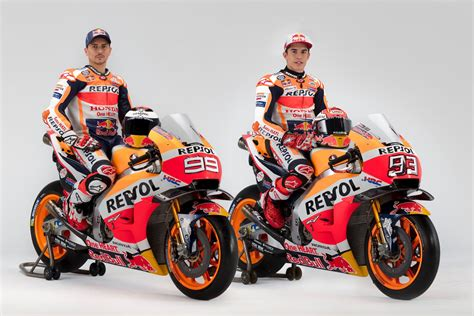 marquez lorenzo rcv exposed honda motogp photo shoot