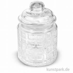 Glasgefäß Mit Deckel : glas mit glasdeckel karos h he 12 5 cm 280 ml ~ Eleganceandgraceweddings.com Haus und Dekorationen