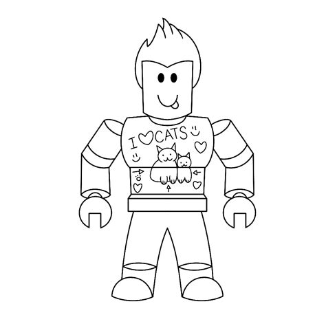 roblox roblox coloring page  coloring pages
