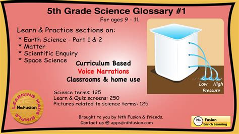 5th Grade Science Glossary # 1  Learn And Practice Worksheets For Home And Classroom Youtube