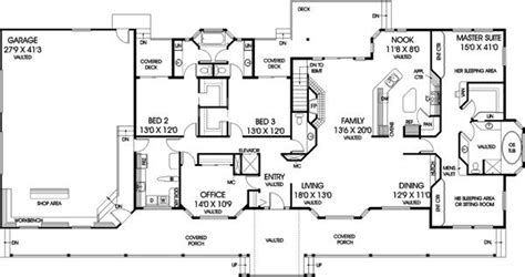 5 Bedroom Home Design Plans : 5 Bedroom Ranch Style House Plans Archives