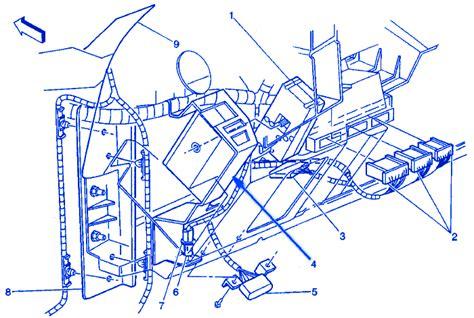 Chevy Silverado Instrument Panel Electrical Circuit
