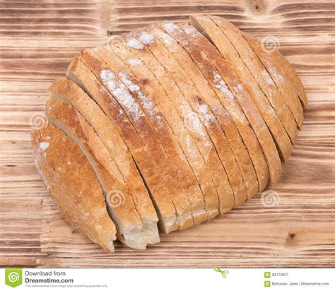 Sliced Crusty Country Style Round Organic French Bread
