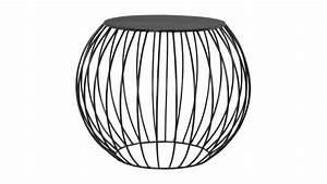 Table De Nuit Metal : chevet moderne rond en m tal peint noir galax gdegdesign ~ Carolinahurricanesstore.com Idées de Décoration