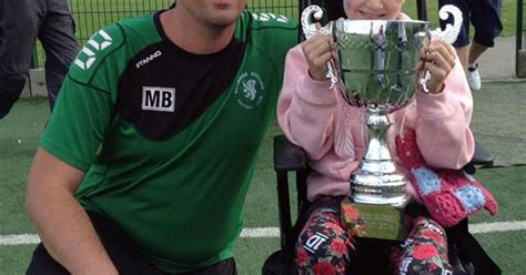 rebecca henderson billingham young billingham footballers raise cash for cancer ward