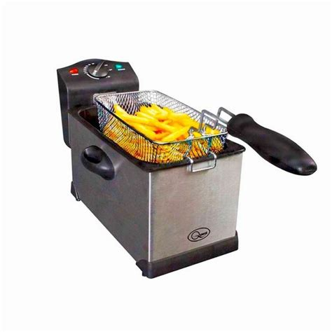 fryer deep fat stainless chip steel litre brand quest fryers 3l professional kitchen clean easy hughes tj
