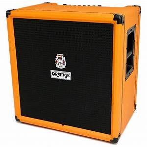 Orange CR100BXT Crush PiX Bass Series 100W 1x15 Bass Combo ...