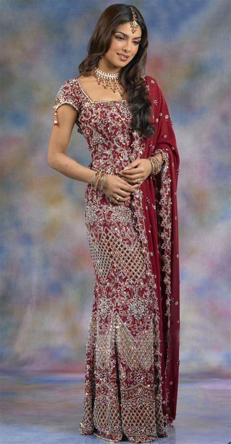 priyanka chopra wedding lehnga saree