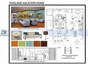 Interior Design Portfolio Book Layout Examples