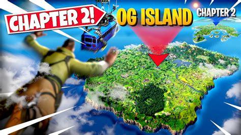 fortnite og island returning  chapter  season