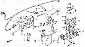 Honda Atv 1987 Oem Parts Diagram For Wire Harness