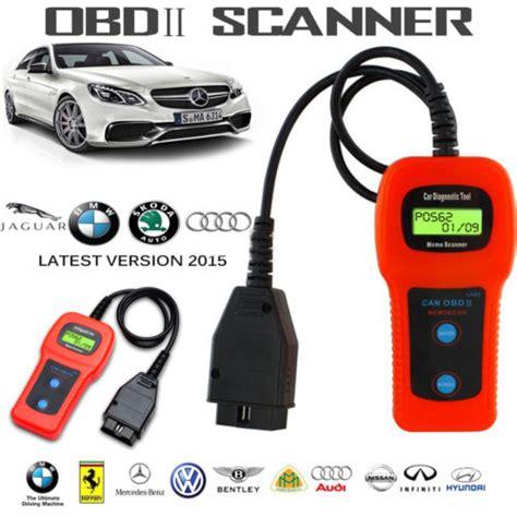 U480 Can Obdii Obd2 Car Diagnostic Scanner Tool Memo
