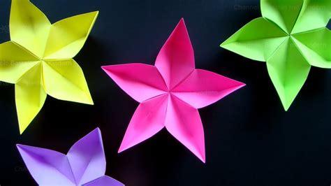origami spinne falten origami blume einfache origami bastelideen falten diy geschenk basteln mit kindern