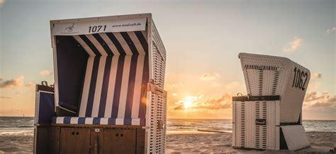 Haus Mieten Sylt Dauermiete by Strandkorb Vermietung Sylt Tourismus Service 187 Hier