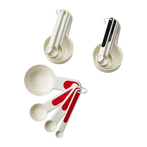 ustensiles de cuisine grenoble stäm cuillères mesures lot de 4 ikea