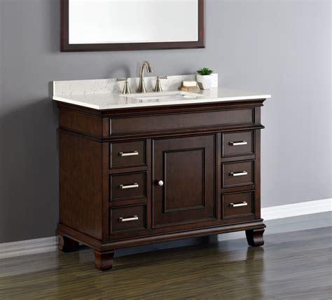 42 single sink bathroom vanity camden 42 quot single sink vanity mission furniture