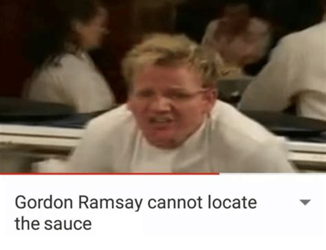 Gordon Ramsay Memes Pokemon - gordon ramsay cannot locate the sauce sauce know your meme