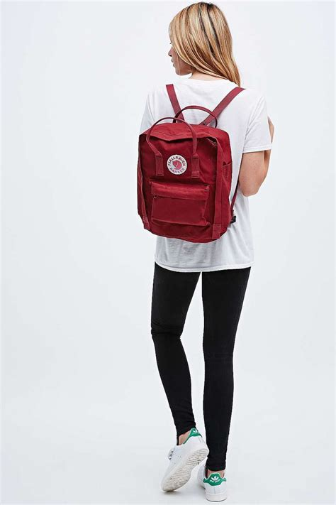 Fjallraven Kanken Classic Ox Red Backpack | Urban outfitters Ox and Classic