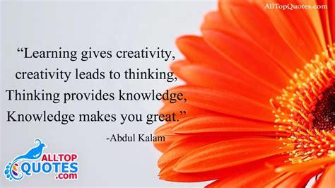 knowledge quotations  abdul kalam  top quotes