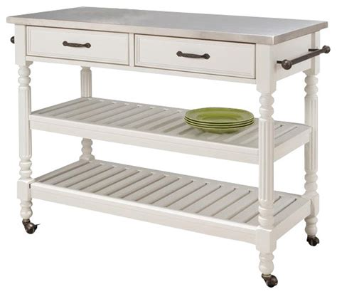 stainless steel kitchen island cart stainless steel kitchen cart traditional kitchen
