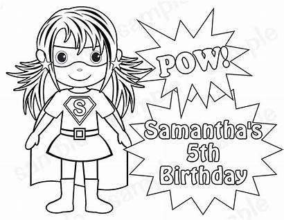 Superhero Coloring Pages Printable Clipart Superheroes Cartoon
