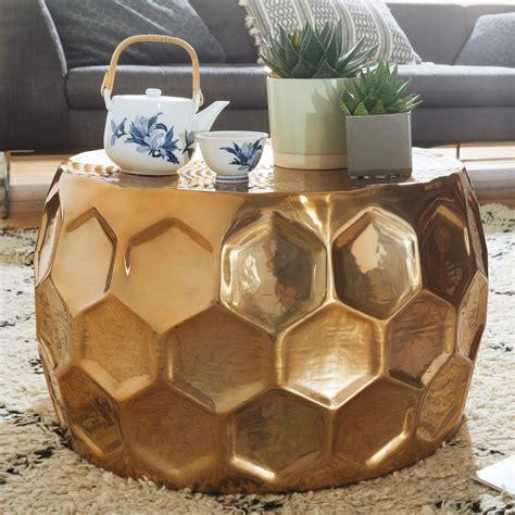 Couchtisch Aluminium Rund by Couchtisch Honeycomb 60x36x60 Cm G 252 Nstig Kaufen