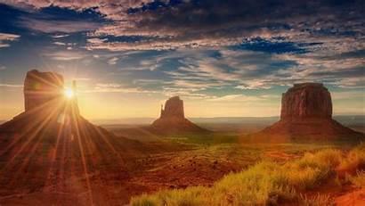 Monument Valley Wallpapers Arizona Desert Sunset Landscape