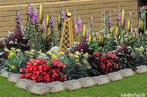 flower bed gardenpuzzle garden planning tool