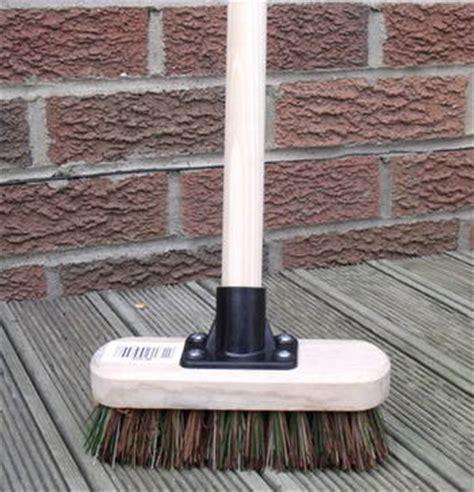deck scrub brush with handle 7 quot deck scrub heavy duty stiff floor scrubbing brush with