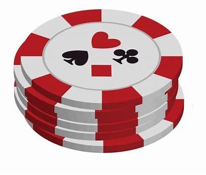 Casino Clipart Chip Chips Clip Vector Poker