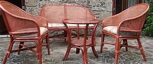 Mobilier De Veranda : meubles rotin osier table de lit ~ Teatrodelosmanantiales.com Idées de Décoration