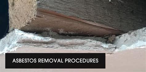 asbestos removal procedures mesothelioma asbestos