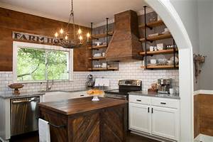 The Benefits Of Open Shelving In The Kitchen HGTV39s