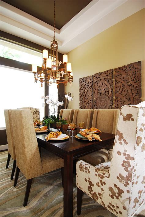 Diy metallic wall art dining room modern with glass art