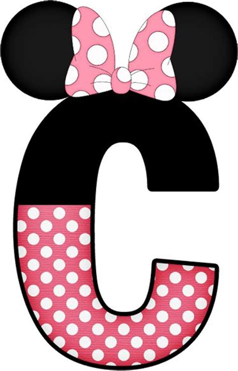 minnie mouse   letter  clipart   cliparts  images  clipground
