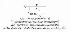 Kv Berechnen : ventilauswahl ~ Themetempest.com Abrechnung
