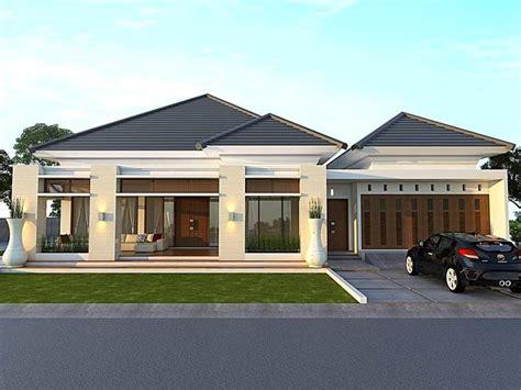 desain rumah minimalis type 45 1 lantai tak depan