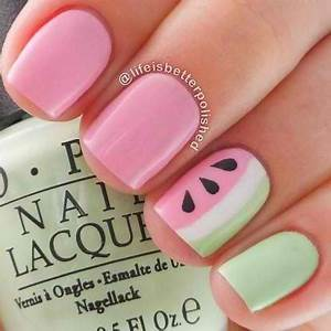 Simple Nail Designs for Kids and Teens to Do at Home ...