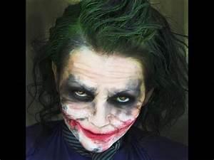 Joker MakeUp Tutorial | Kandee Johnson - YouRepeat