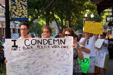 Whites Hold Silent Protest, Procession in West Hartford ...