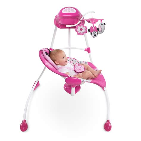 Minnie Mouse Baby Swing by Disney Baby Minnie Mouse Garden Delights Swing Ebay