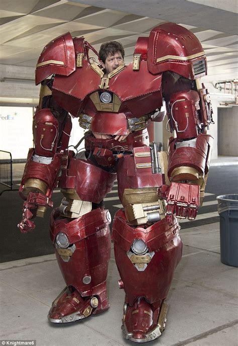 hulkbuster costume    realistic cosplay