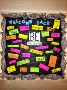 Middle School Bulletin Board